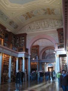 Die Abteibibliothek – aus dem 19. Jahrhundert