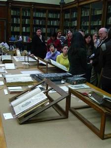 Präsentation von Alten Drucken und Handschriften