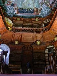 Die Erzbischöfliche Bibliothek in Eger
