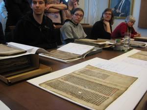 Handschriftenfragmente im Reichsarchiv