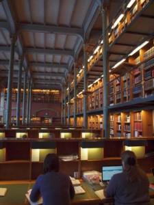 Lesesaal der Königlichen Bibliothek