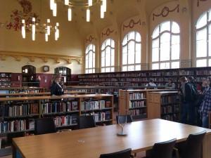 In der Stadtbibliothek Görlitz