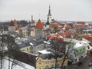beim Altstadt-Rundgang durch Tallinn